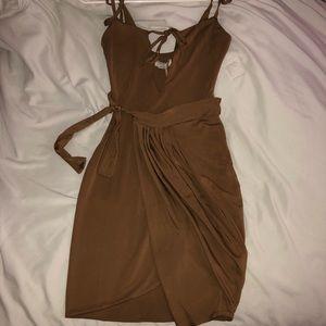 Mini Oh Polly wrap dress NEVER WORN*